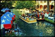 The San Antonio Riverwalk